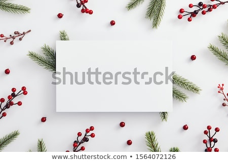 an empty template for christmas stock photo © colematt