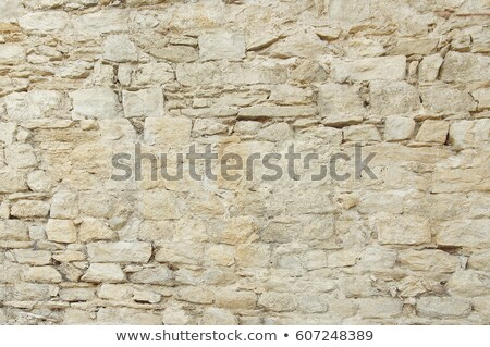 Old damaged stone wall  Stock photo © grafvision