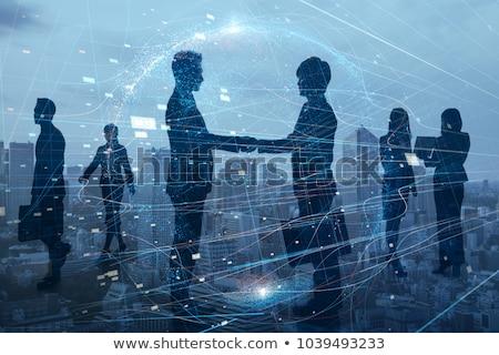 онлайн деловой женщины человека ресурсы менеджера поиск Сток-фото © robuart