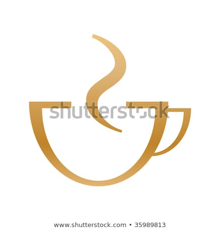 Stock photo: Red No Sign On Coffee Cup