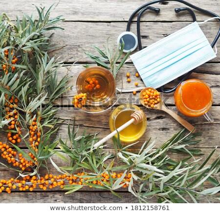 Vitaminic healthy sea buckthorn tea  Stock photo © Illia