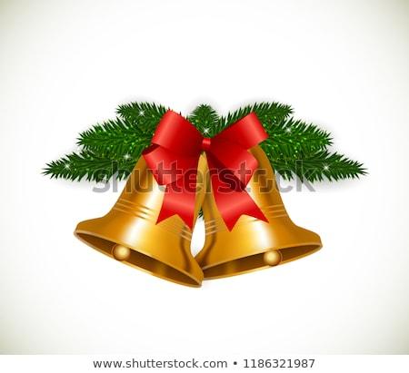 Рождества колокола Новый год веселый Сток-фото © sgursozlu