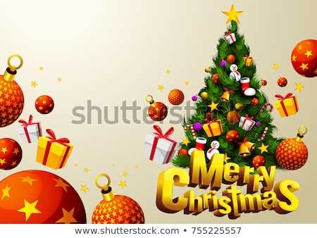 Santa Christmas Text Area Stock photo © Lightsource