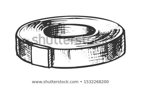 канцтовары оборудование чернила вектора лента Сток-фото © pikepicture