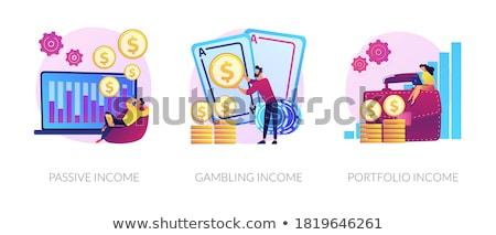 収入 ベクトル お金 ビジネス ストックフォト © RAStudio