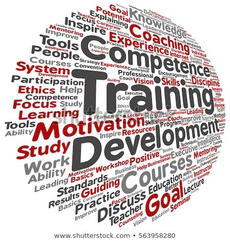 Personal skills development vector concept metaphors. Stock photo © RAStudio