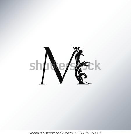 Capital letter M Stock photo © grafvision