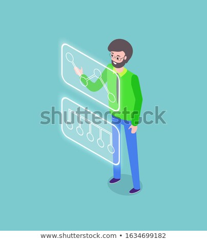 Tech Startup, Testing Platform, Business Vector Stock photo © robuart