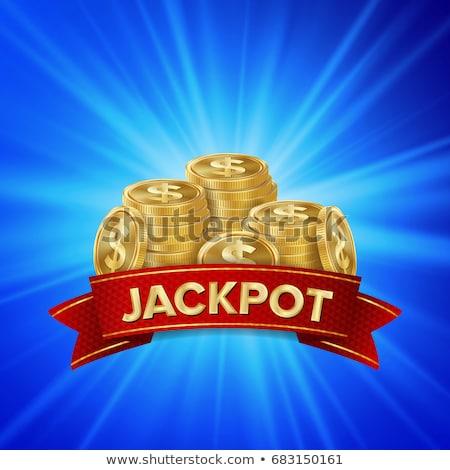 Pénz díj vektor metafora trófea jutalom Stock fotó © RAStudio