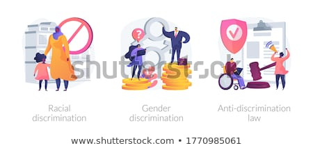 Anti-discrimination law abstract concept vector illustration. Stock photo © RAStudio