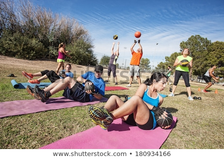 Outdoor training stock photo © pressmaster