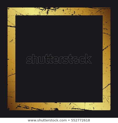 Old Black Gold Frame Stock photo © adamr