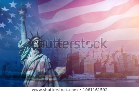 1216590 статуя свободы флаг сша