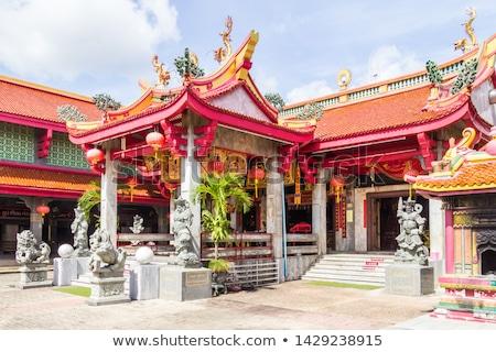 Budista santuário phuket Tailândia tropical Foto stock © travelphotography