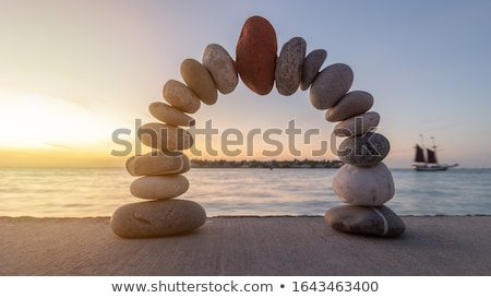 Mediating by the Sea Stock photo © Alvinge