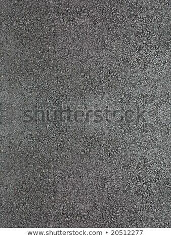 Photo stock: Noir · brillant · nouvelle · asphalte · résumé · texture