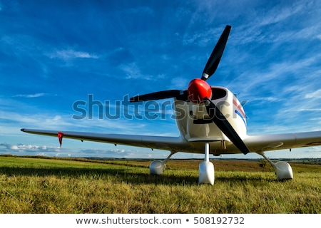 Uçan ders kadın mutlu karanlık hava Stok fotoğraf © photography33