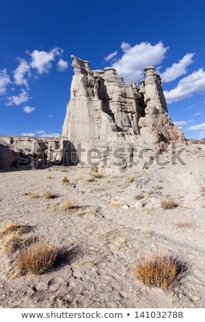 Ghost ранчо каньон Blue Sky Нью-Мексико широкоугольный Сток-фото © Qingwa