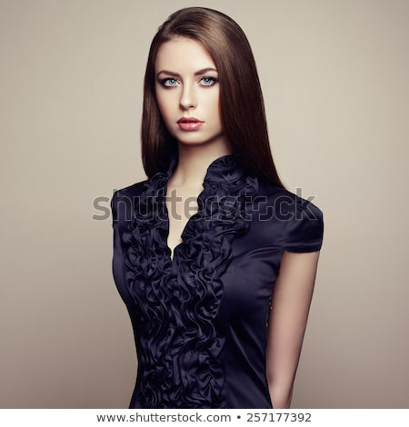 Güzel kız portre açık havada seksi Stok fotoğraf © pekour
