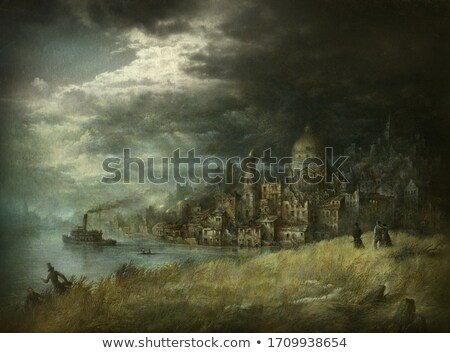 ominous cityscape stock photo © curaphotography