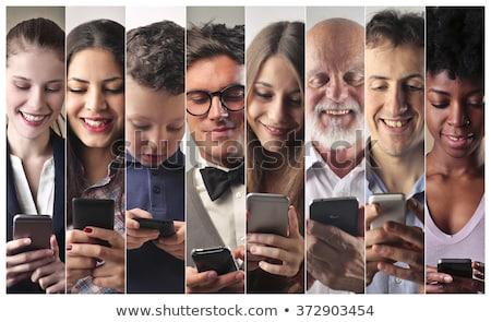 sms · marketing · 3d · render · tecnologia · rede - foto stock © kbuntu