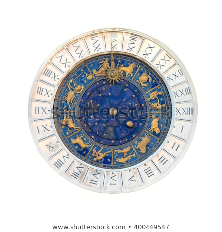 St Marks Astronomical Clock Isolated Stock photo © Kacpura