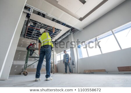 painter working on ceiling stock photo © photography33