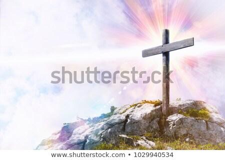 cruz · tierra · ilustración · mundo · energía - foto stock © elenarts