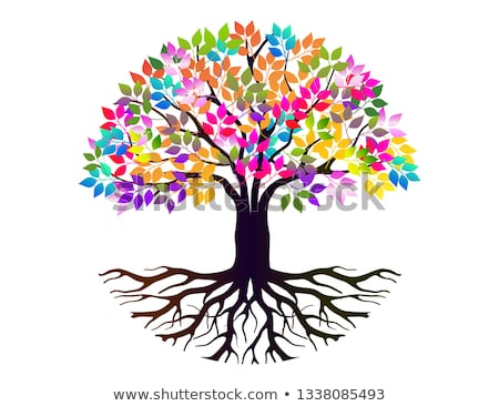 Stock photo: Color Tree
