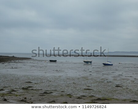And old boat at the beach, Holy Island, Scotland  Stock photo © Julietphotography