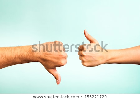 hand making a thumbs up sign stock photo © photography33