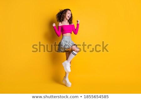 seksi · uzun · bacaklar · fetiş · ayakkabı · lateks · çorap - stok fotoğraf © dolgachov