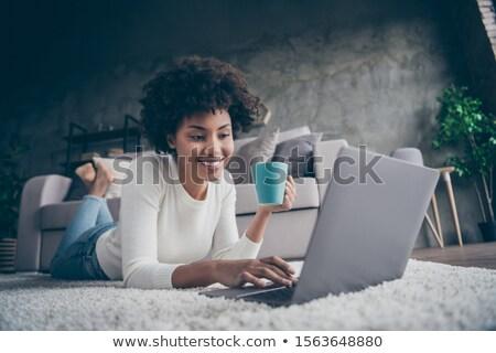 África mujer de negocios piso Foto stock © stockyimages