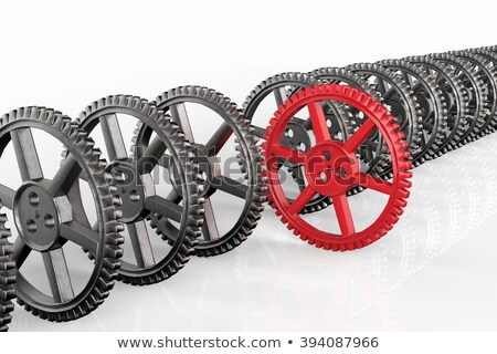 The Gear Of Leadership And Control Stock photo © idesign