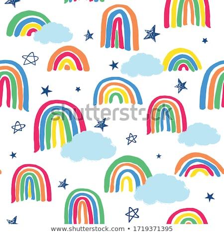 rainbow markers stock photo © sahua