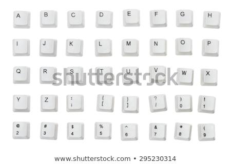 ötlet · gomb · billentyűzet · modern · számítógép · billentyűzet · számítógép - stock fotó © tashatuvango