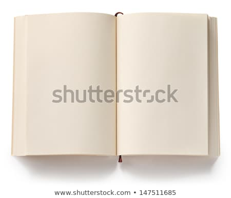 blank book pages stock photo © winterling