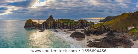 Cornwall ouest mer Photo stock © mosnell