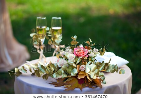 wedding golf table Stock photo © jonnysek
