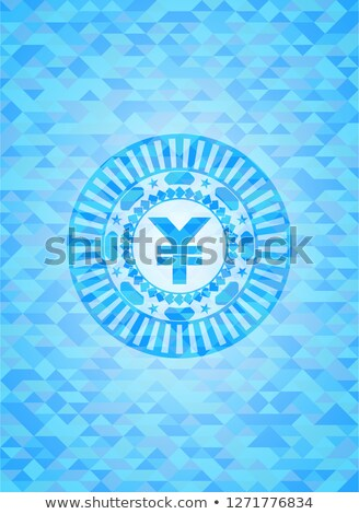 elmas · açık · mavi · başarılı · ticaret · simge · ayarlamak - stok fotoğraf © arlatis