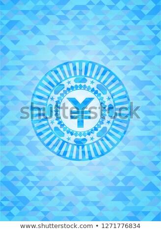 Diamonds on light blue background, successful trade symbol Stock photo © arlatis