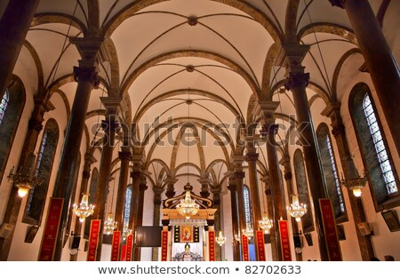 Kerk kathedraal basiliek Beijing China beroemd Stockfoto © billperry