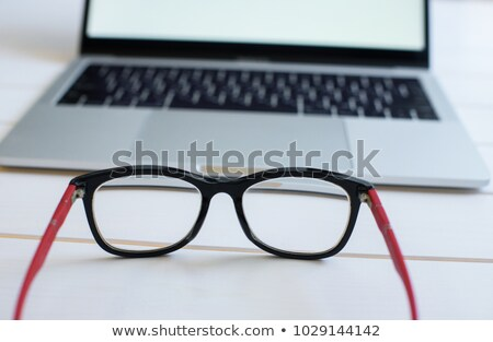 Young businessman removing glasses Stock photo © photography33