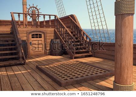 Stock fotó: Pirate Sailing Ship