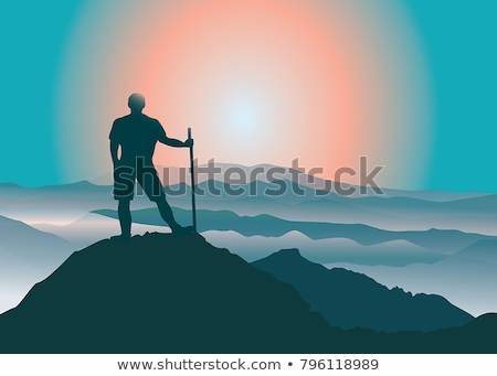 Boy at the Appalachian Trail stock photo © 2tun