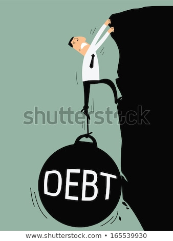 Bringing down Debt Stock photo © head-off