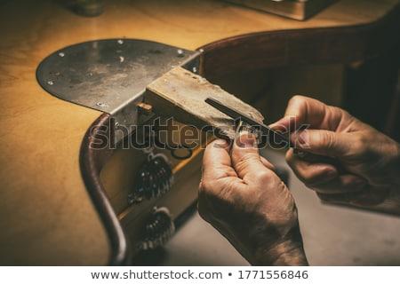 goldsmith making ring stock photo © vichie81
