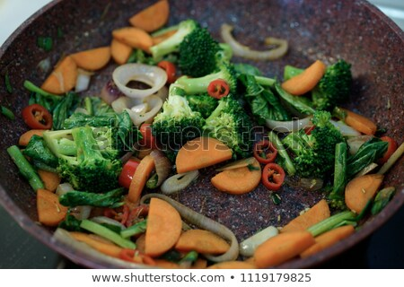 veggie stirfry stock photo © hojo