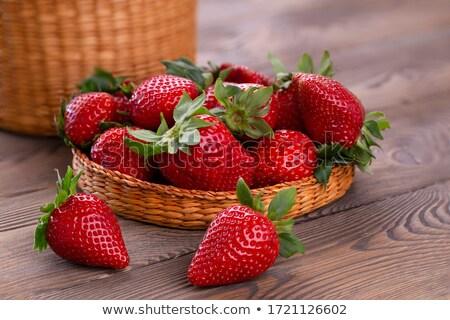 Eprek asztal friss nyár ital gyümölcsök Stock fotó © tannjuska