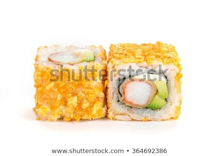 sushi · camarao · fresco · verduras · quente · alimentos - foto stock © rohitseth